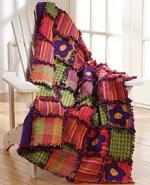 Blossom Rag Quilt through Sewing.org