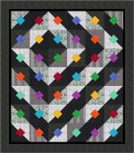 Bright Black & White Free Quilt Pattern from Quiltshop Online