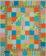 Easy Charity Quilt Tutorial by Jan Ochterbeck from The Colorful Fabriholic