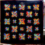 Delectable Stars Free Quilt Pattern by Cindy Carter from Carter Quilter