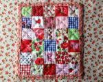 Dollhouse Quilt Tutorial by Maggie Freeman through Victoriana Quilt Designs