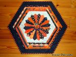 Halloween Table Topper Tutorial from Luann's Loose Threads