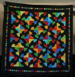Drunkard's Path Quilt Tutorial by Peggi from Seams to be You and Me