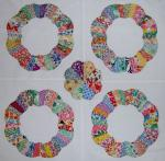 The Ferris Wheel Free Quilt Pattern from Q is for Quilter