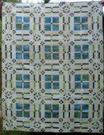 Flowers in My Windows Free Quilt Pattern by Cindy Carter from Carter Quilter