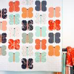 Flutter Free Quilt Pattern by Aneela Hoey through Cloud 9 Fabrics