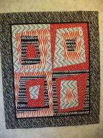 Four Fat Quarter Baby Quilt Tutorial by Kat from Kat & Cat Quilts