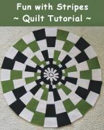 Fun With Stripes Tutorial by Geta Grama from Geta's Quilting Studio