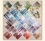 Geese Migration Quilt by Cynthia Brunz through Sew Mama Sew