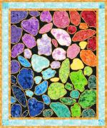 Gemstones Free Quilt Pattern by Flaurie & Fitch for RJR Fabrics