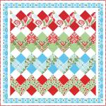 Holiday Ribbon Free Quilt Block Tutorial from Ryan Walsh Quilts