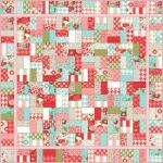 Jolly Jelly Roll Quilt Along 1.1 by Christa Watson from Christa Quilts