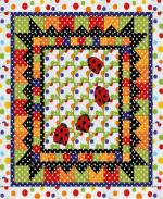 Lady Bug Quilt by Wendy Sheppard from Ivory Spring