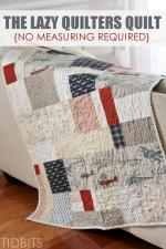No Mearsuring Required Quilt Tutorial by Cami from Tidbits