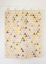 Little Peaks Quilt Tutorial by Molly through Purl Soho