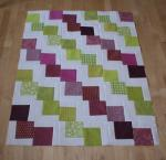 Movin On Up Quilt Tutorial by Amanda Jean from Crazy Mom Quilts