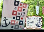 Nautical Baby Quilt by Amanda from Jedi Craft Girl