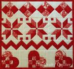 Nordic Mini Quilt Tutorial by Julie Cefalu from The Crafty Quilter