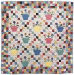 Posy Pots Free Quilt Pattern by Nancy J. Martin through Martingale