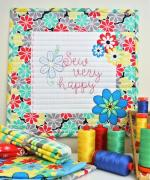 Sew Very Happy Free Quilt Pattern by Susan Emory through Aurifil