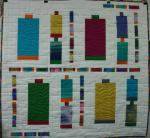 Spooling Around Free Quilt Pattern from Always Playing with Aurifil Thread