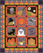 Trick or Treat Free Lap Quilt Pattern by Alexandra Henry for Pellon