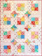 Two Happy Baby Quilt Pattern by Monica Solorio-Snow from The Happy Zombie