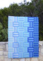 Water/Waves Quilt Tutorial by Corinne Sovey from Must Love Quilts