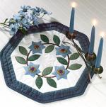 Yo-Yo Star Flowers Tablemat from Quilter's World Magazine